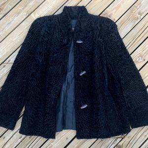 VINTAGE 60s DIOR Velvet Jacket Coat